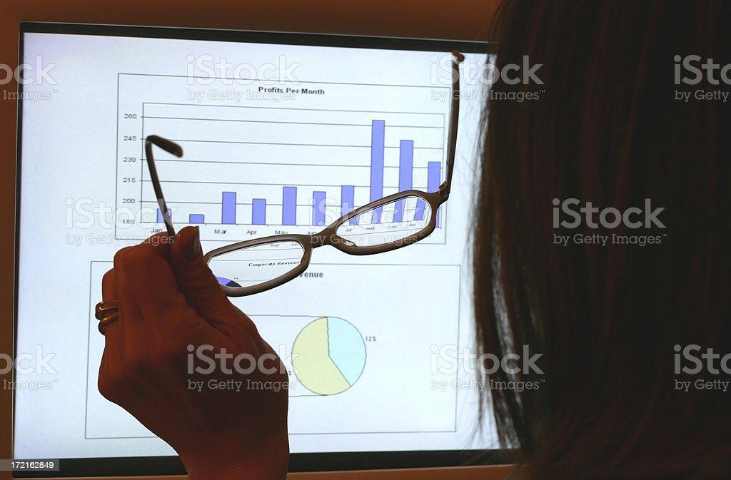 Woman Executive royalty-free stock photo