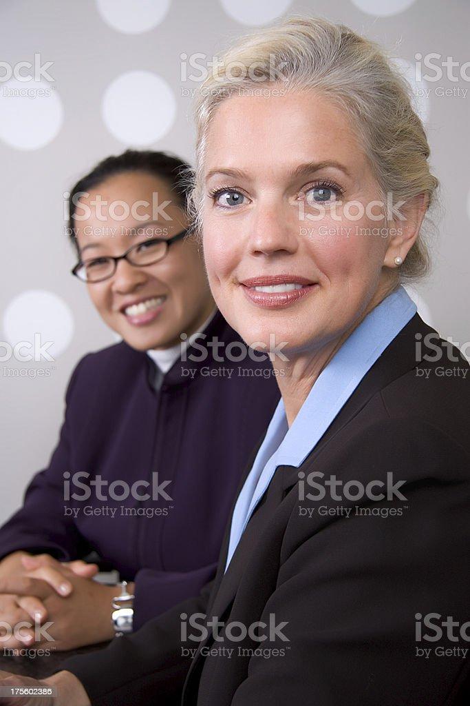 Woman executives royalty-free stock photo