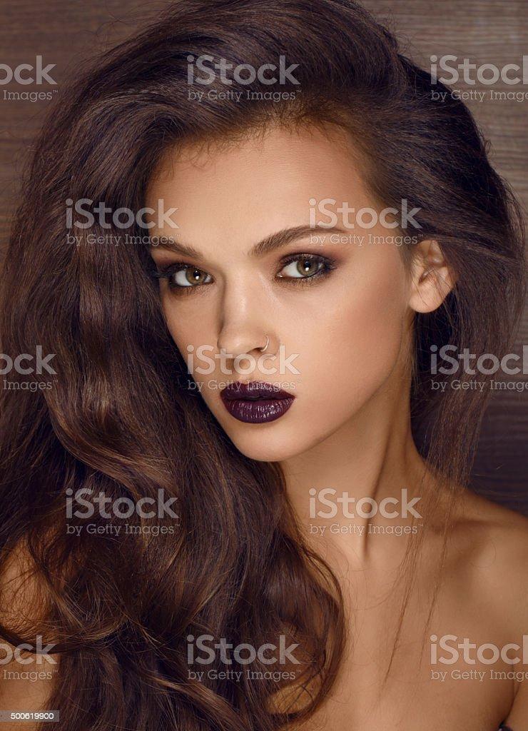 woman face beauty stock photo