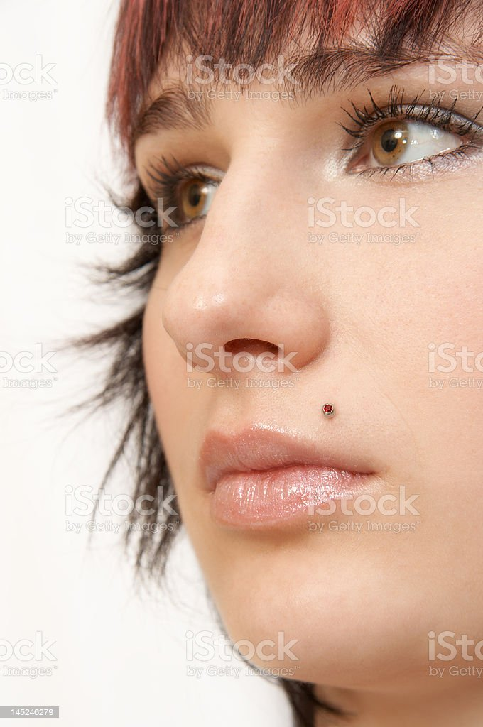 Woman face royalty-free stock photo