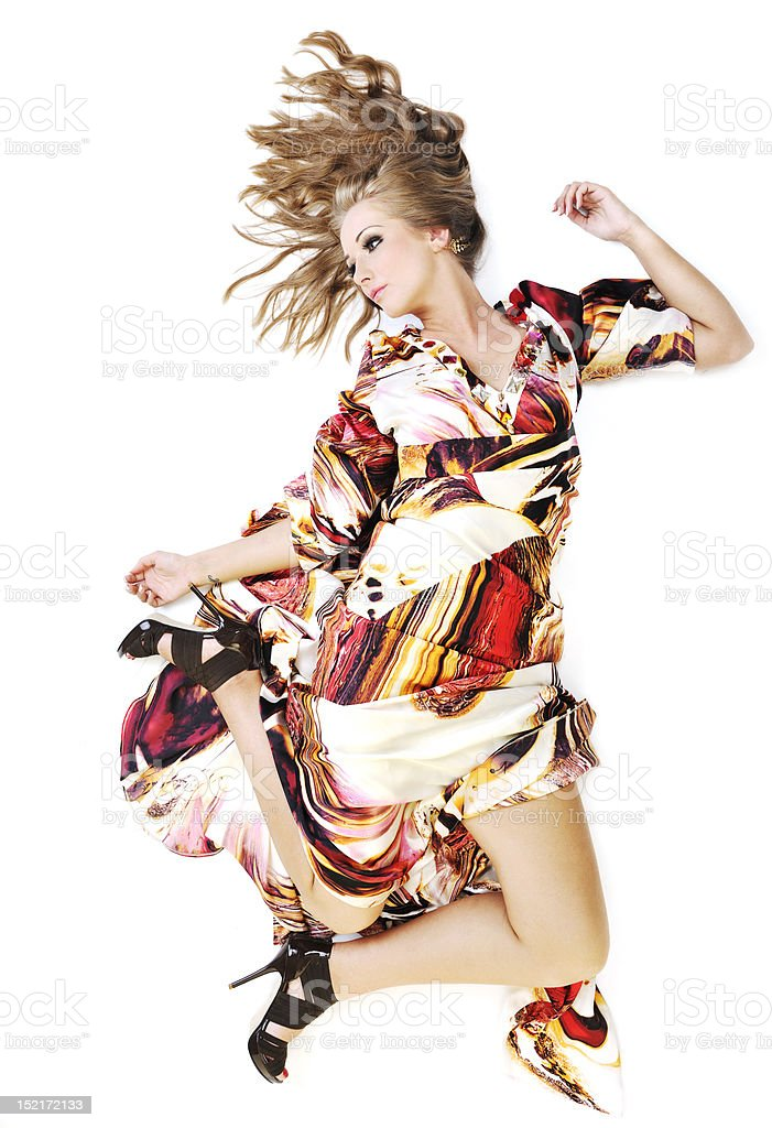 woman fashion and style royalty-free stock photo