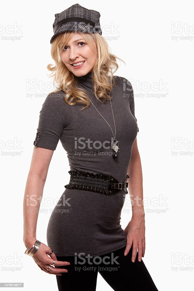 Woman fashion royalty-free stock photo
