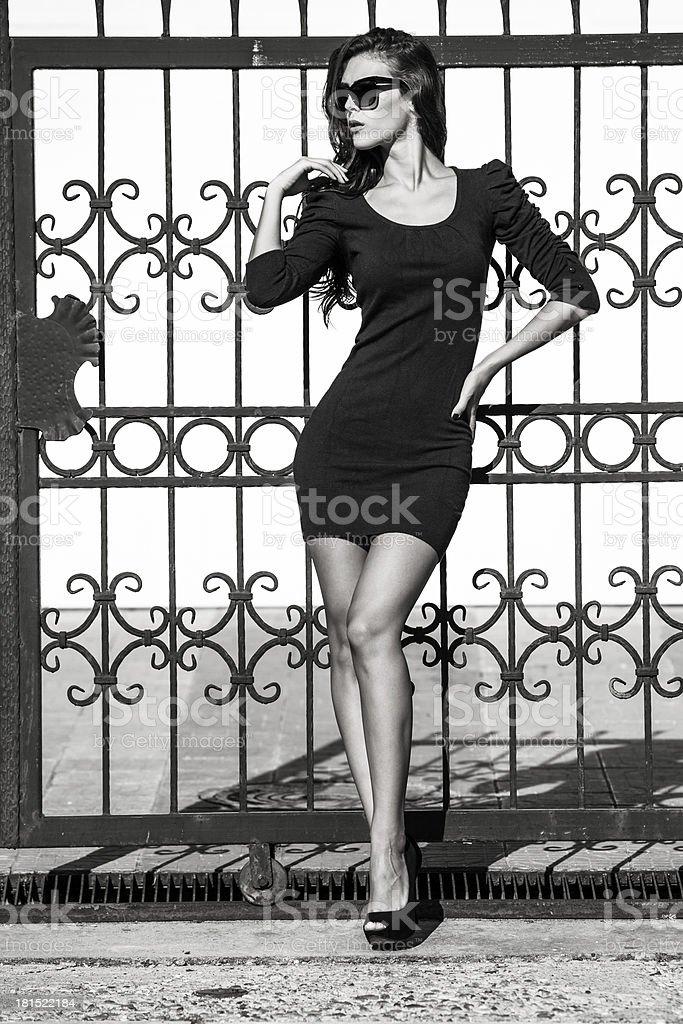 woman fashion royalty-free stock photo