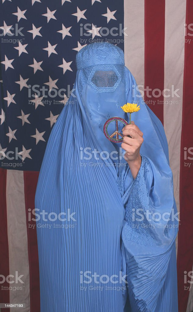 Woman From Afghanistan royalty-free stock photo