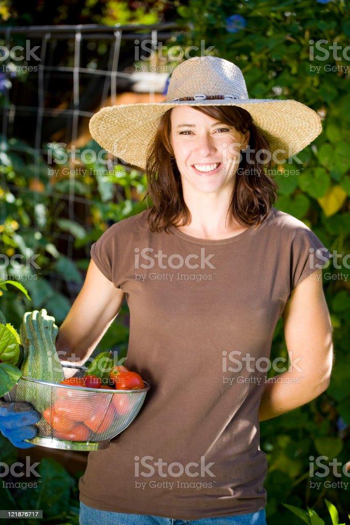 Woman Gardener royalty-free stock photo