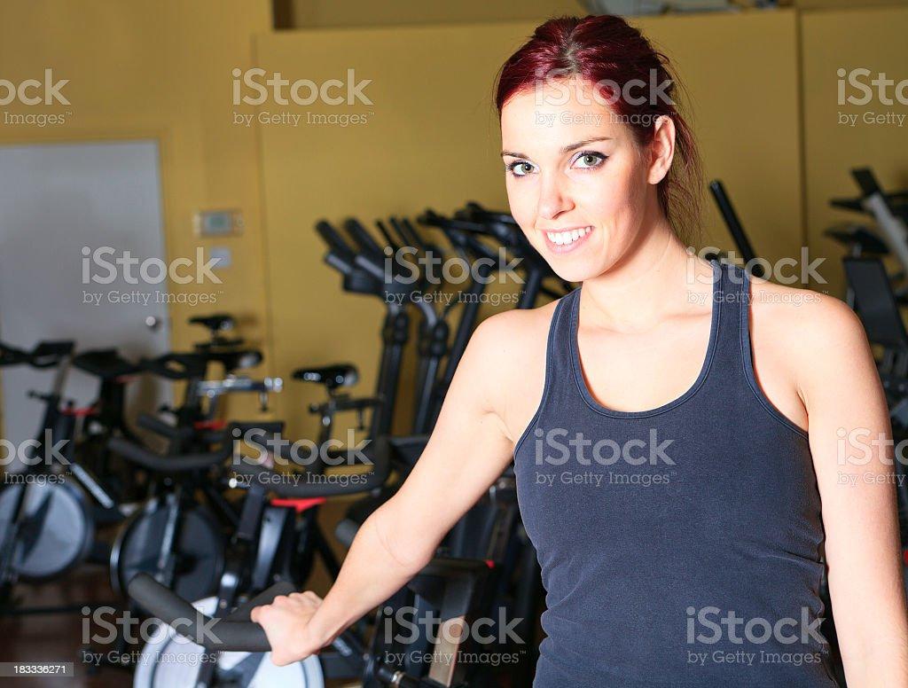 Woman Gym royalty-free stock photo