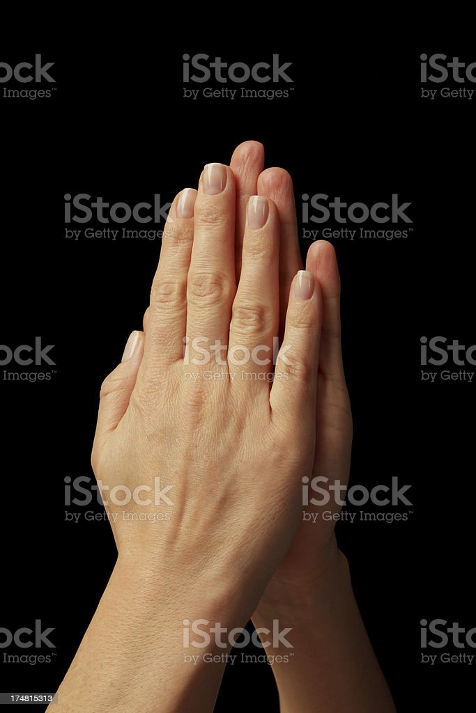 woman hands royalty-free stock photo