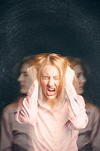Woman Having An Emotional Meltdown