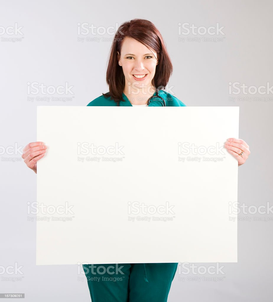Woman Healthcare Worker royalty-free stock photo