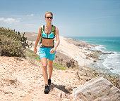 Woman Hiking in North Brasil, South America