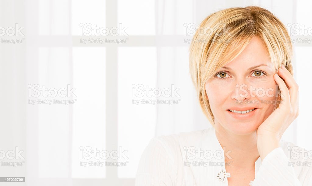 Woman in 30s. stock photo