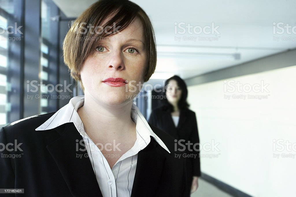 Woman in an office royalty-free stock photo