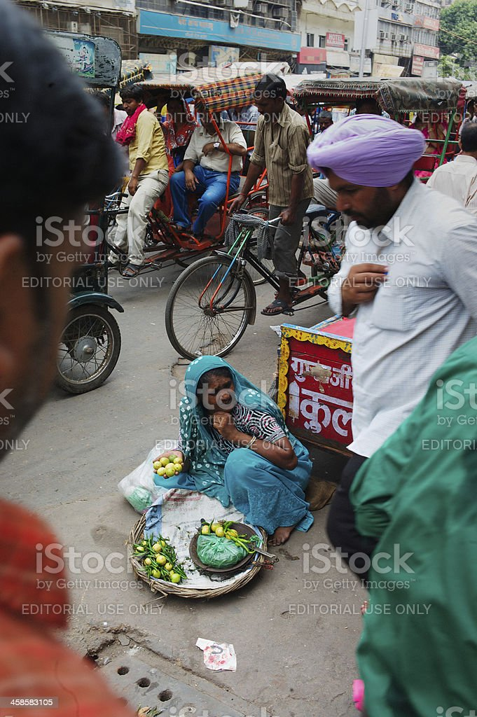 Woman in India royalty-free stock photo