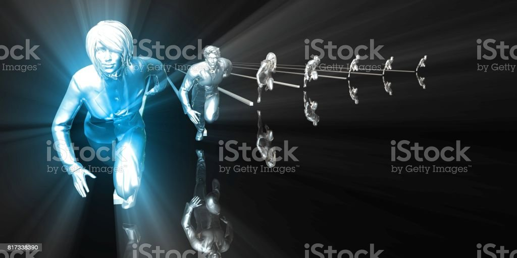 Woman in Leadership Position stock photo