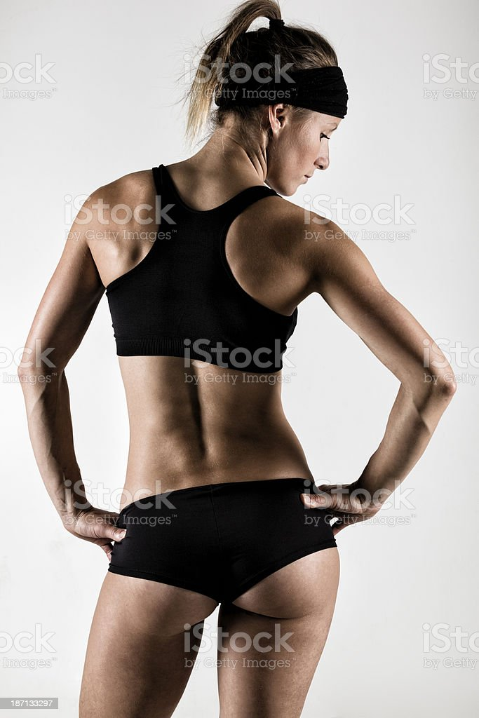 Woman in Shape stock photo