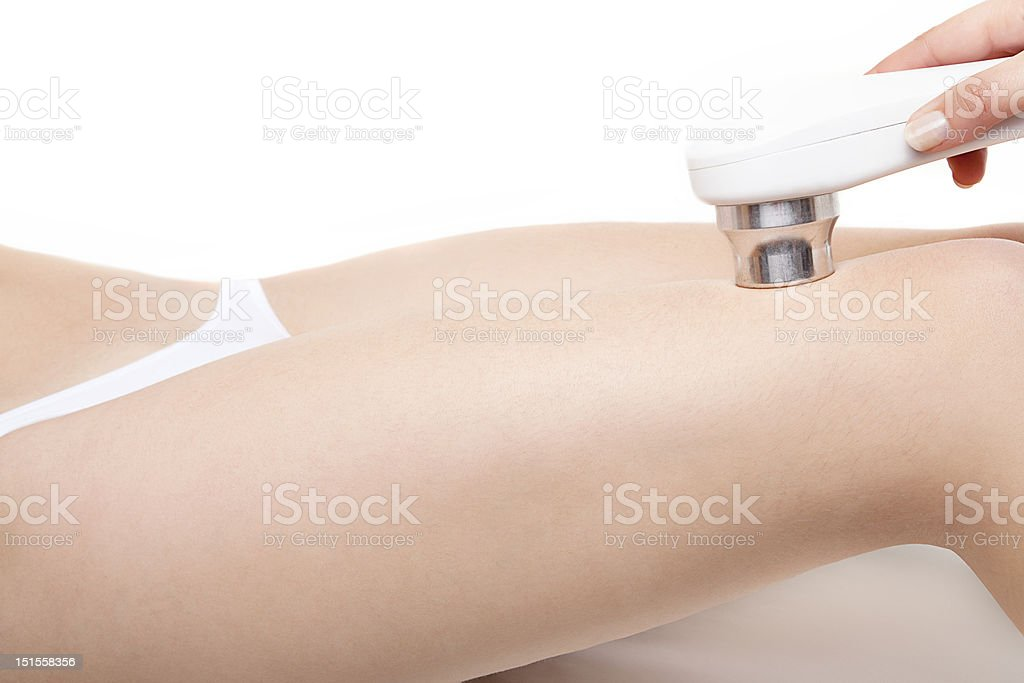 Woman In Treatment stock photo