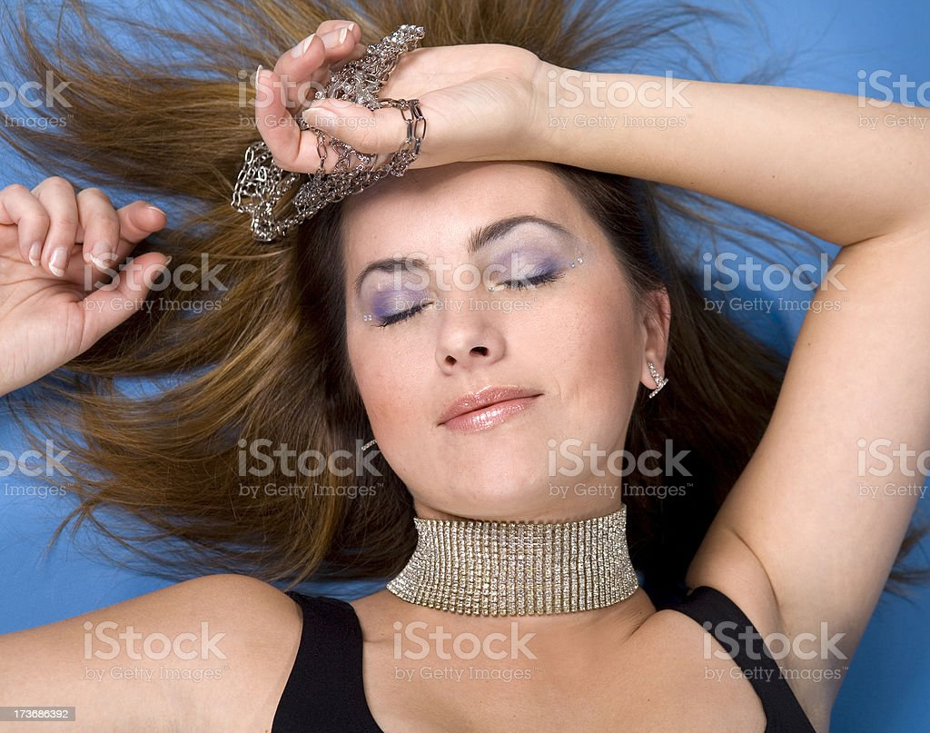 Woman Jewellery royalty-free stock photo