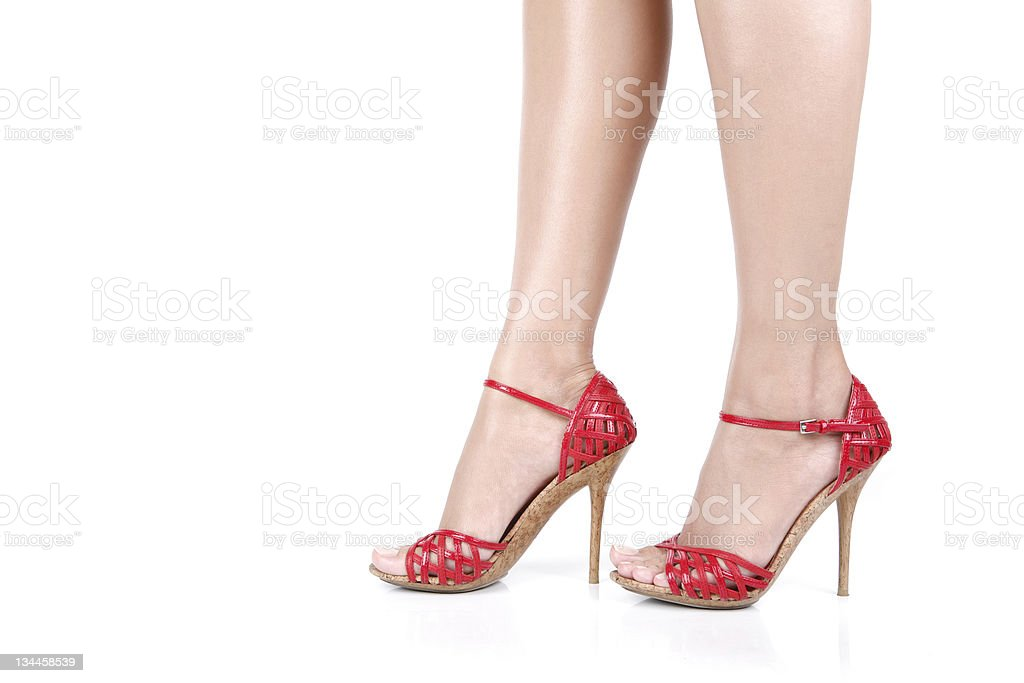 Woman Legs royalty-free stock photo