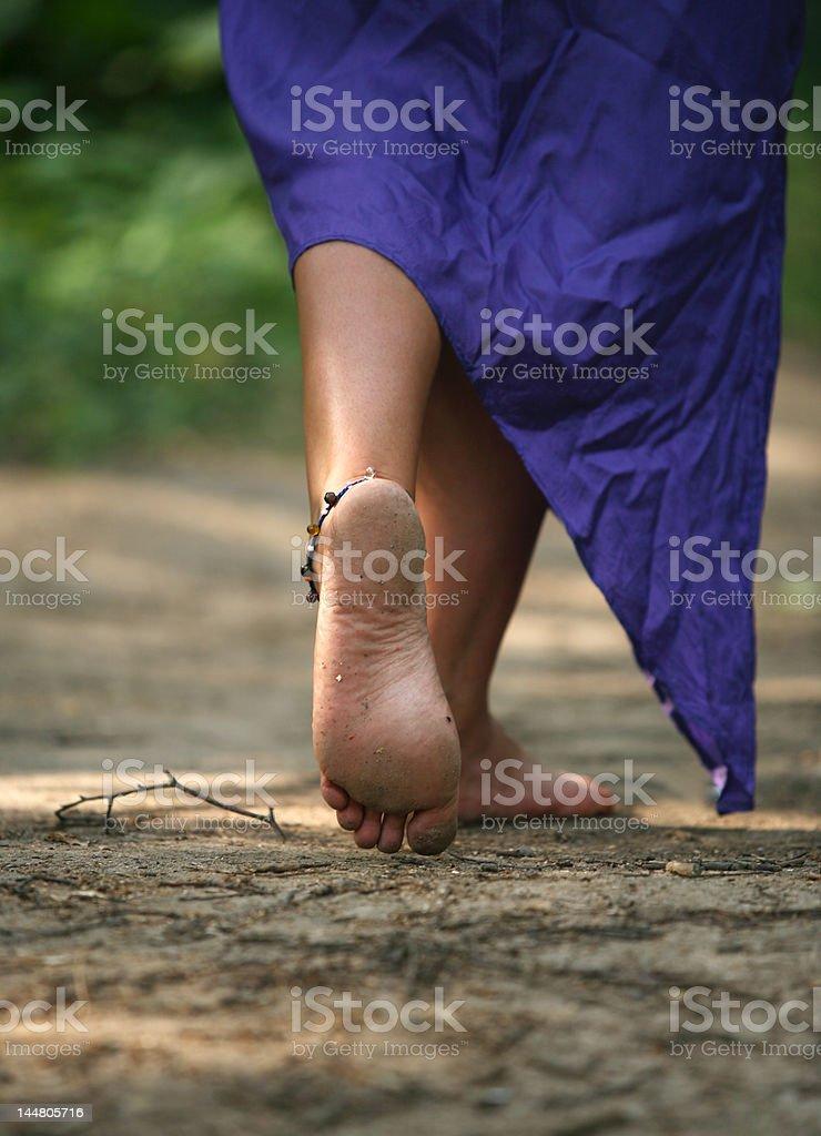 woman legs royalty-free stock photo
