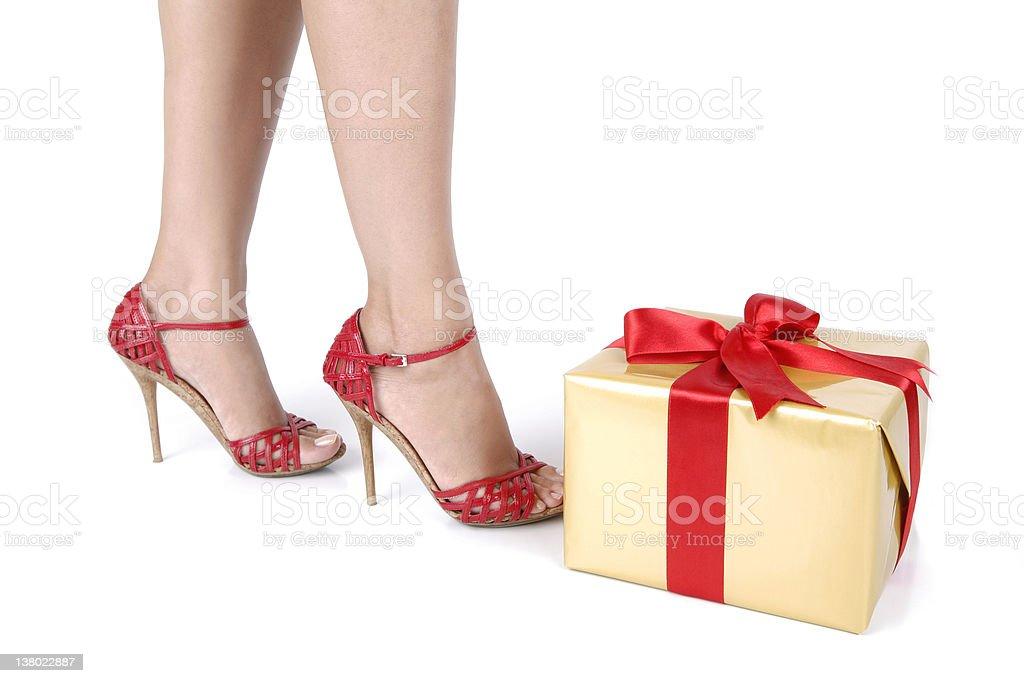 Woman Legs Series royalty-free stock photo