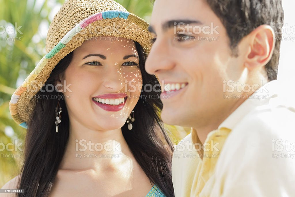 Woman Looking At Man. royalty-free stock photo