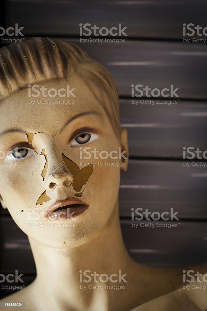 Woman Mannequin stock photo
