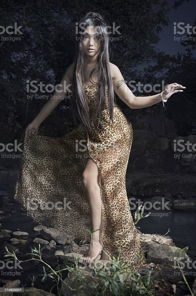 Woman of the Water royalty-free stock photo