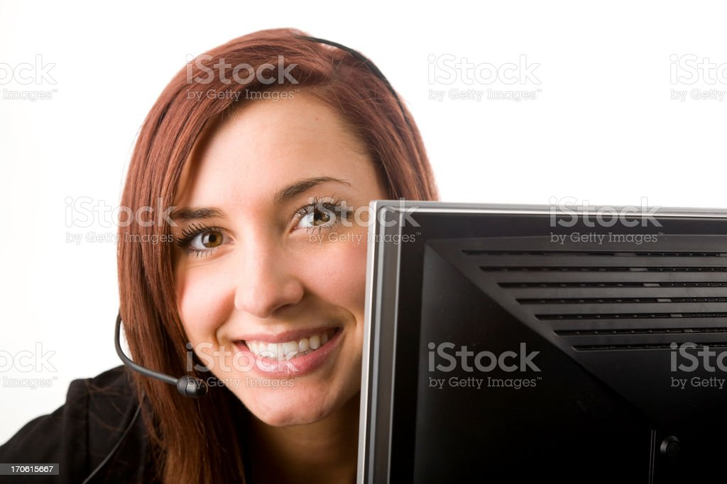 Woman Office Worker royalty-free stock photo