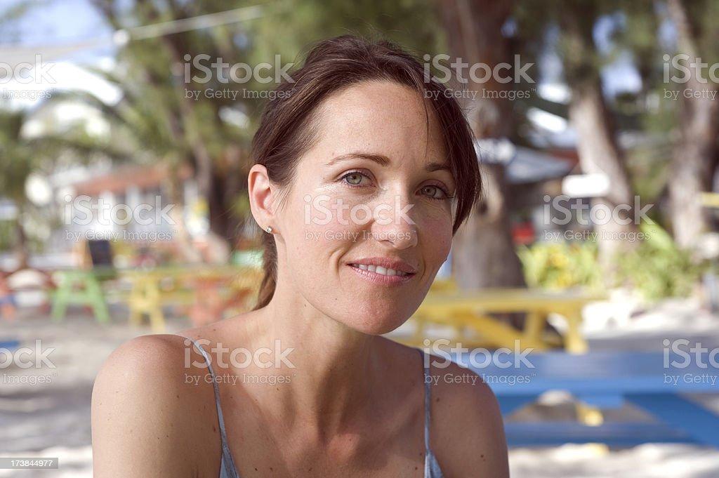 Kobieta na wakacje zbiór zdjęć royalty-free