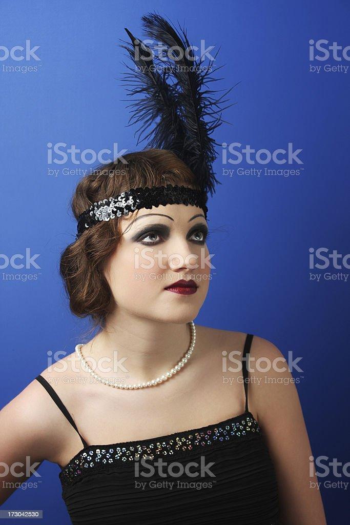 20' woman royalty-free stock photo