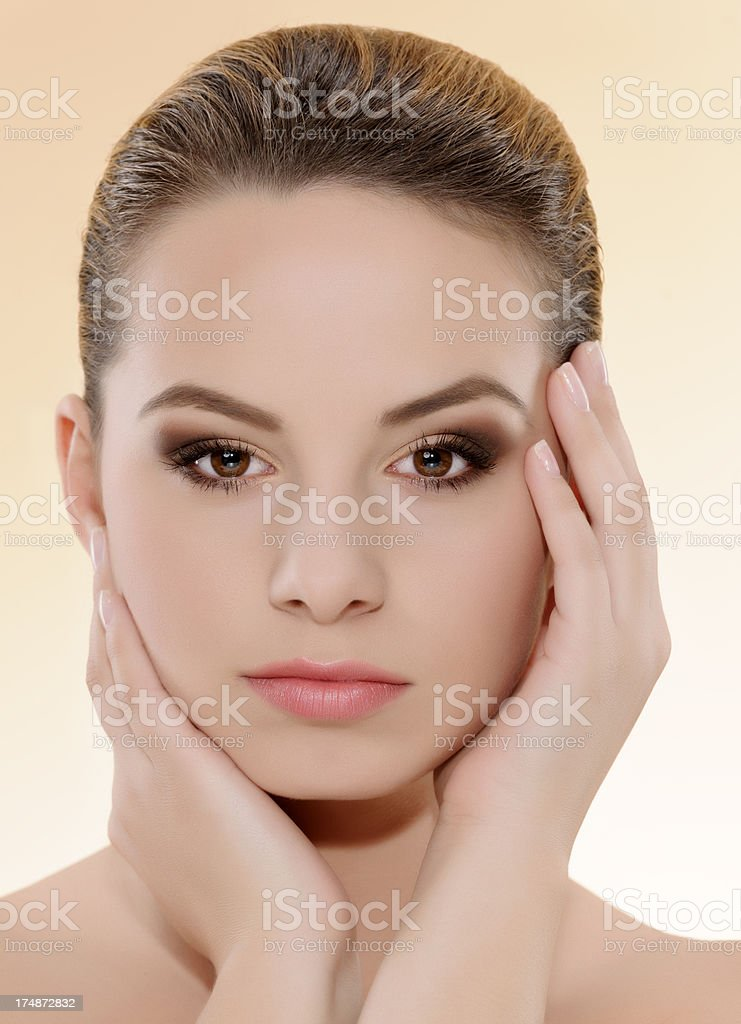 woman portrait beauty concept royalty-free stock photo