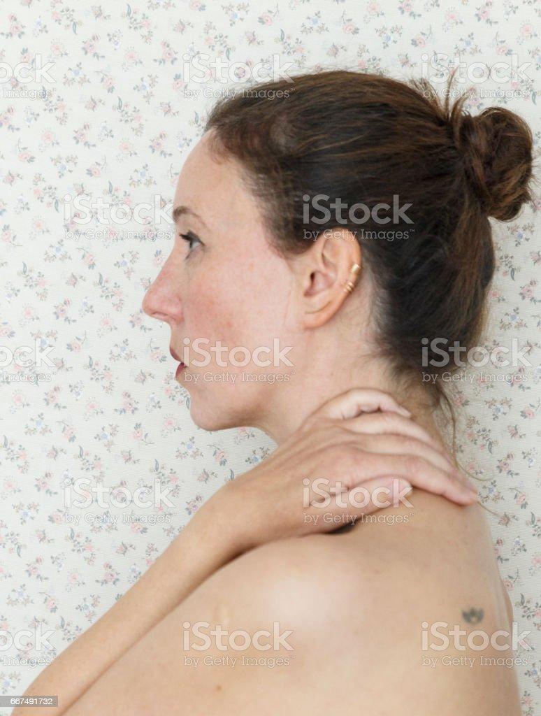 woman portrait III stock photo
