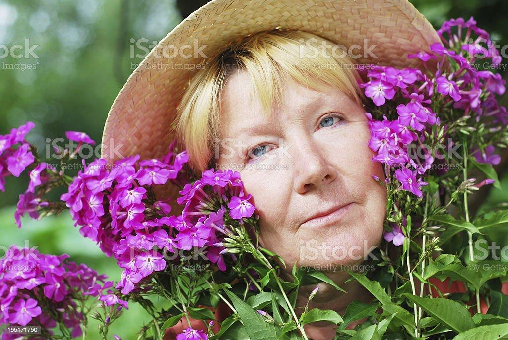 Frau Porträt Lizenzfreies stock-foto