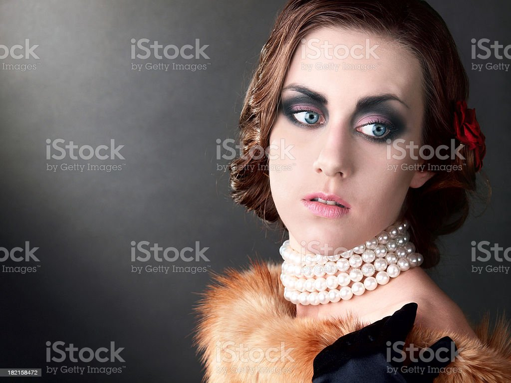 Woman portrait. royalty-free stock photo