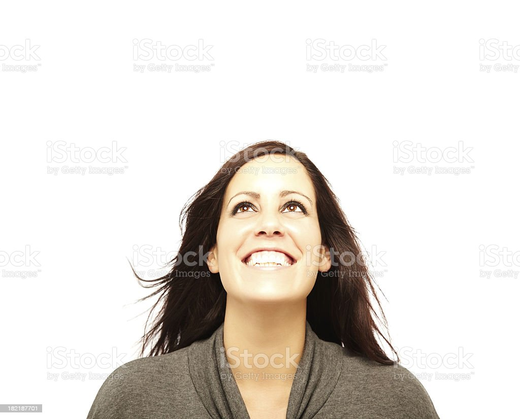 Woman Posing for Camera stock photo