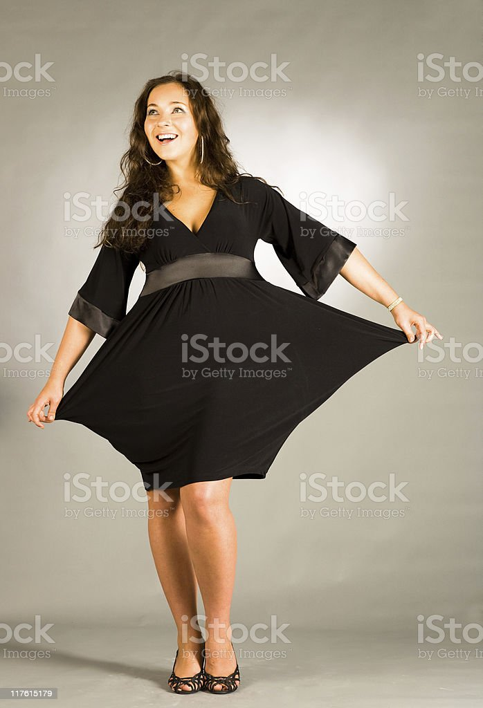 Woman posing royalty-free stock photo