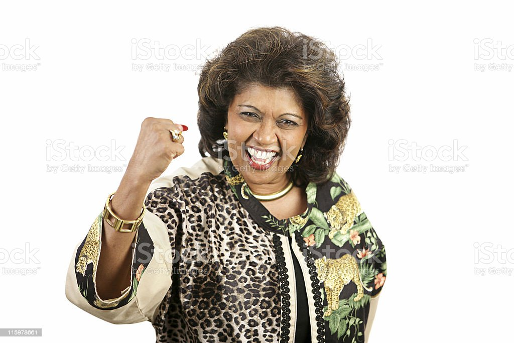 Woman Power royalty-free stock photo