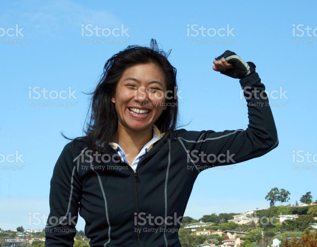 Femme de pouvoir photo libre de droits