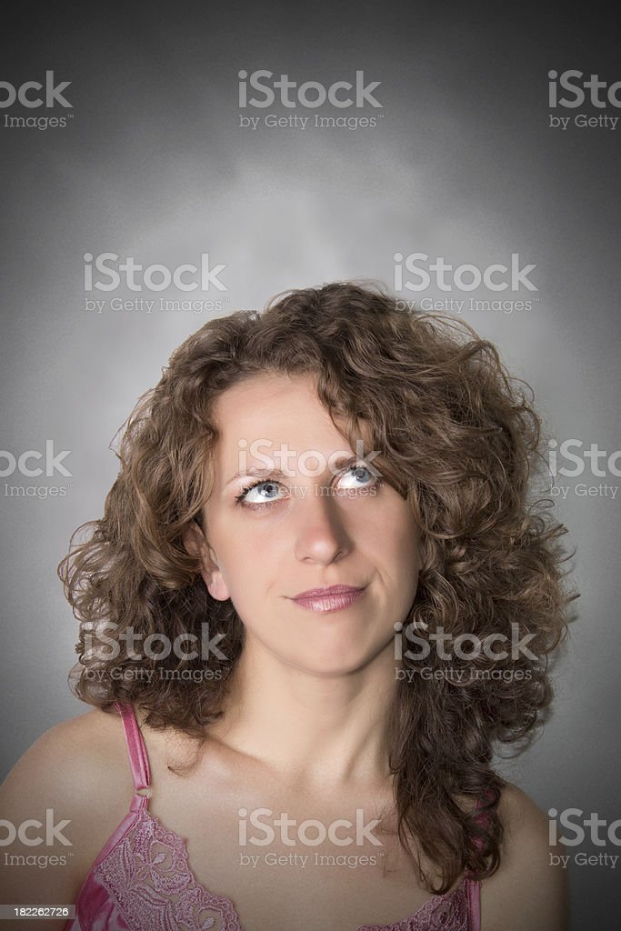 woman problem royalty-free stock photo