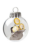 Woman Purse in a Christmas Ornament