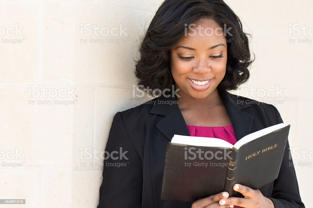 Woman Reading stock photo