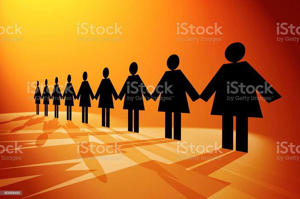Woman Rights stock photo