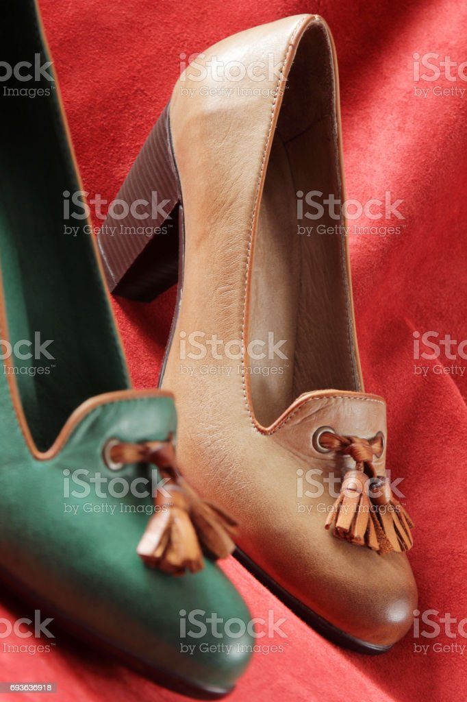 Woman Shoe stock photo