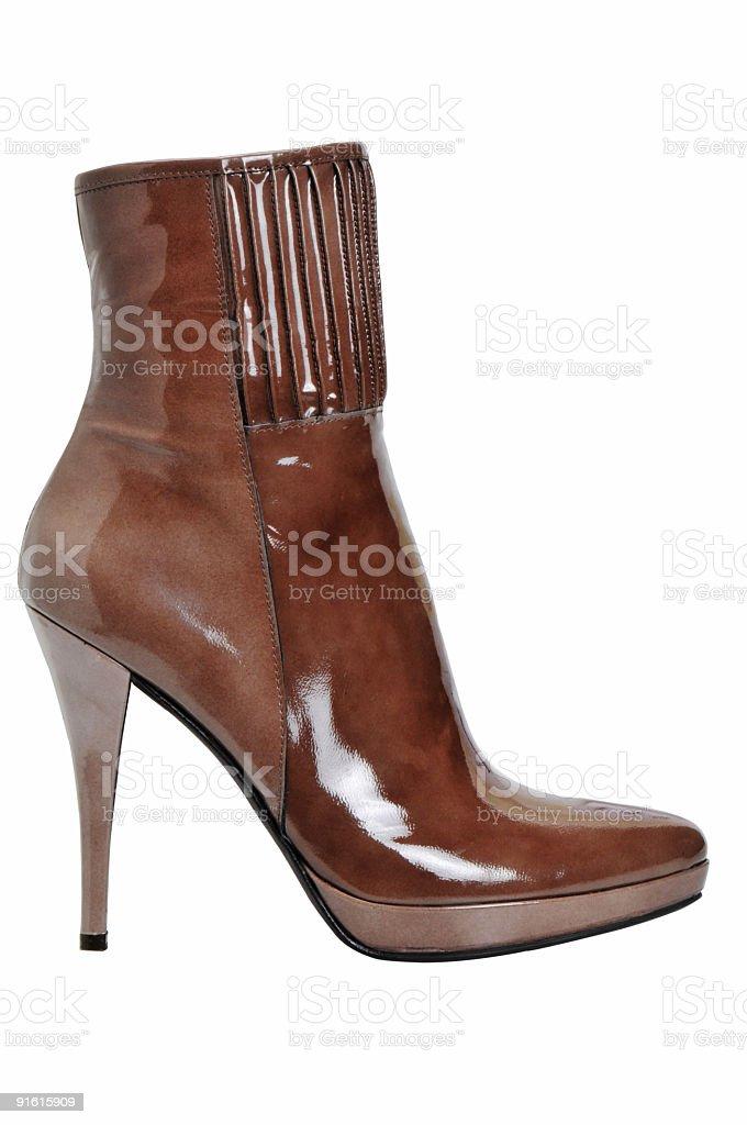 woman shoe royalty-free stock photo