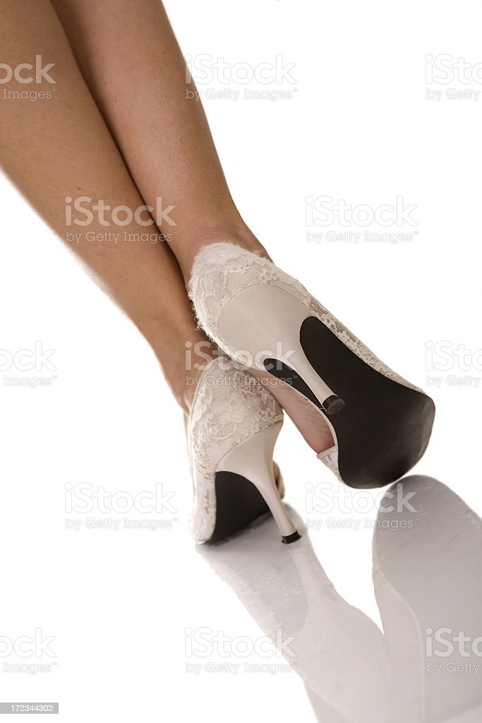 woman shoes royalty-free stock photo