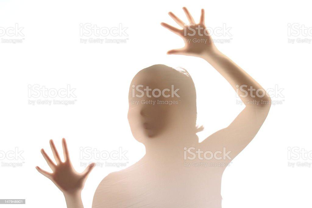 Woman silhouette royalty-free stock photo