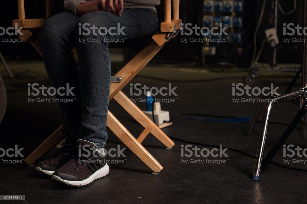 Studio, Television Set, Camera Film, Film Reel, Lighting Equipment