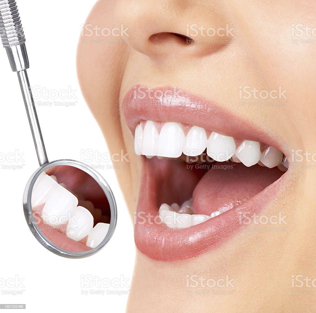 woman smile stock photo