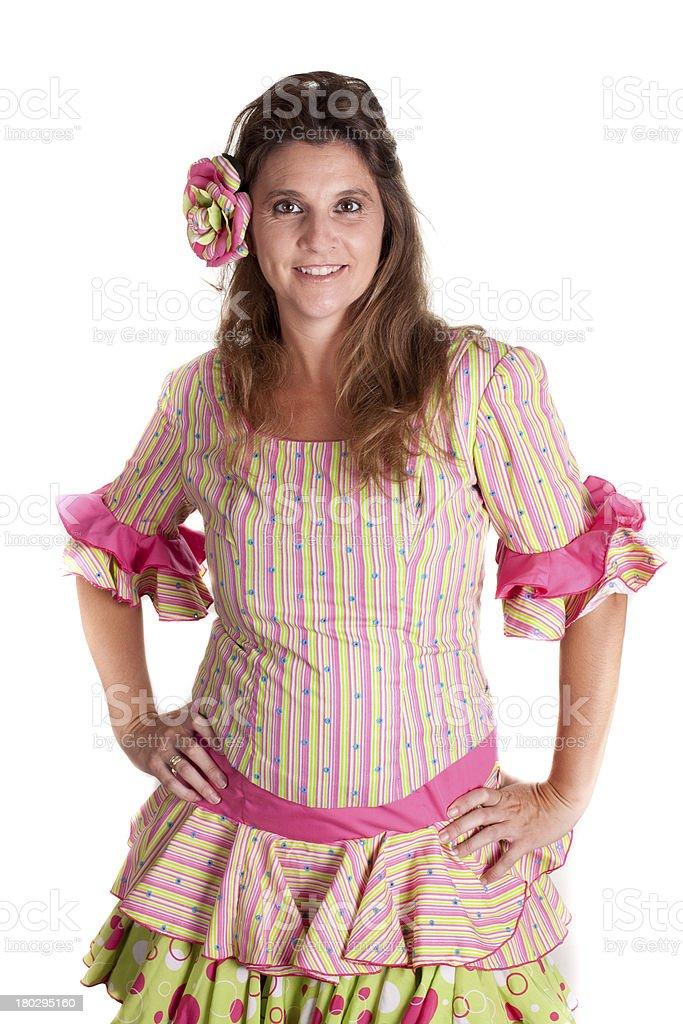 woman spain stock photo