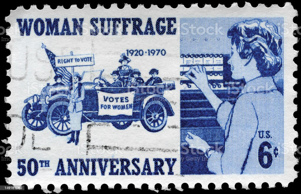 Woman Suffrage royalty-free stock photo